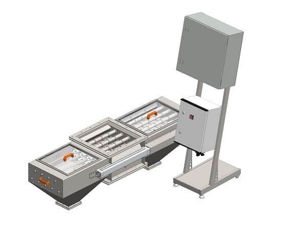 Séparateur magnétique bilatéral MSV PO