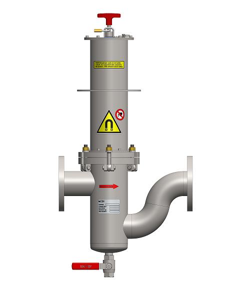 Séparateur magnétique à débit MF – UP