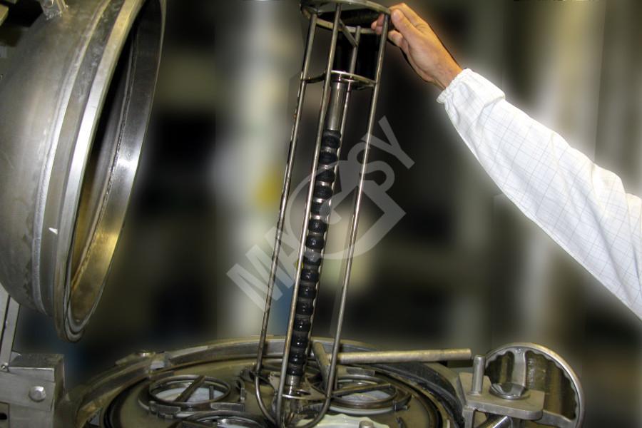 Séparateur magnétique MTF à placer dans des filtres textiles