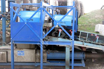 Séparateur magnétique à placer au-dessus d'un convoyeur MSF