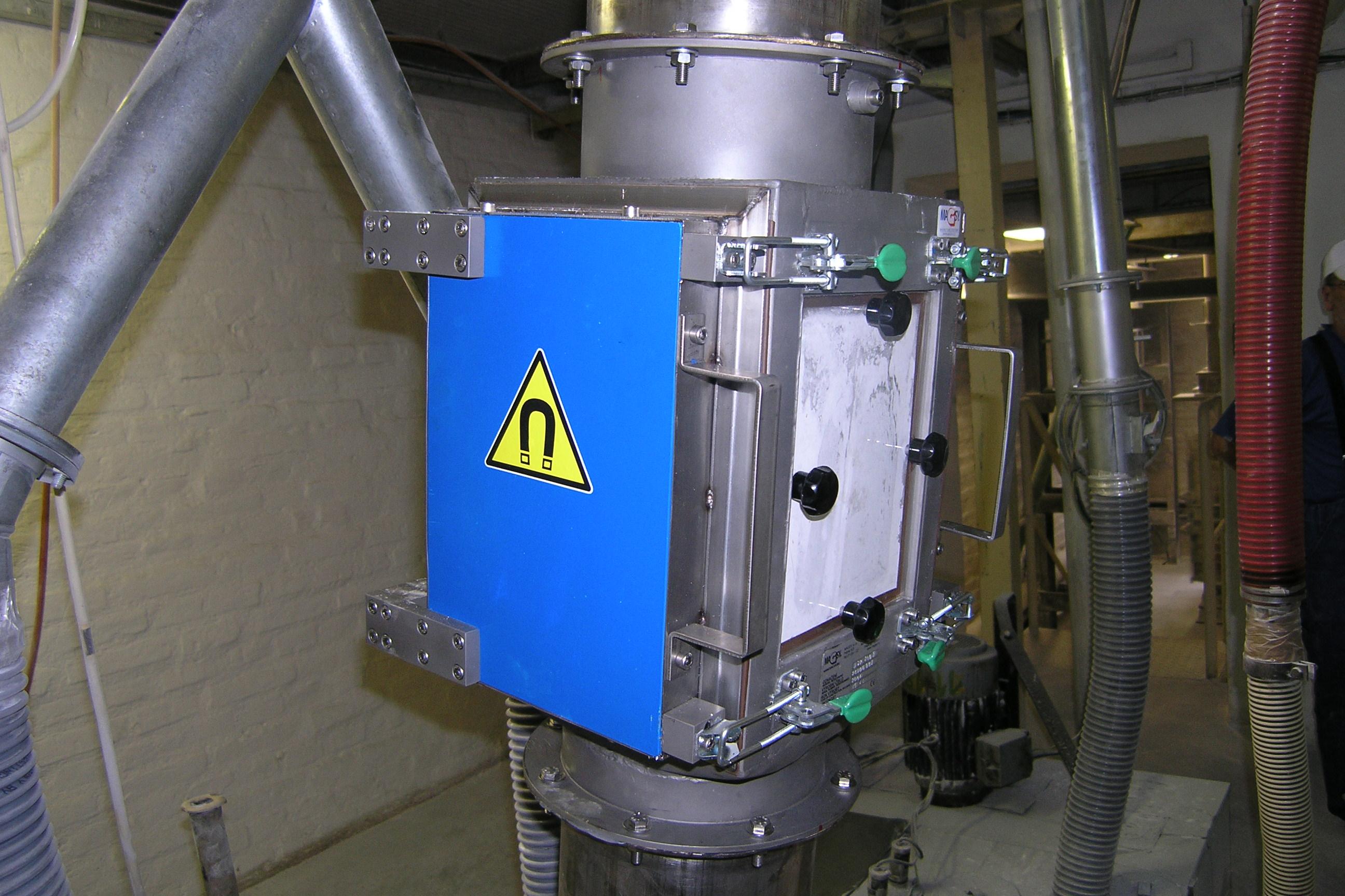 Séparateurs magnétiques à plaques MSP / Lanterne magnétique