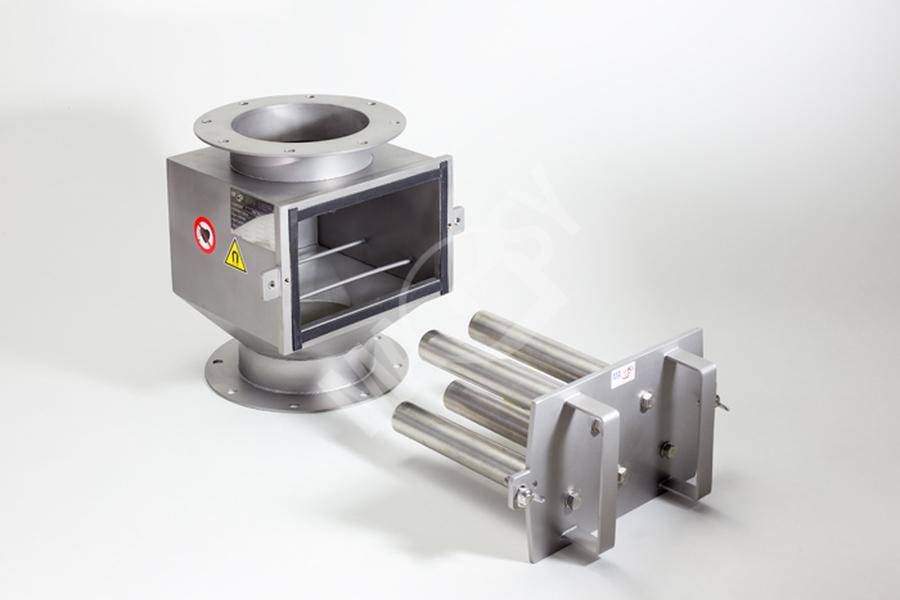 Séparateur magnétique avec grilles coulissantes MSV – EKO